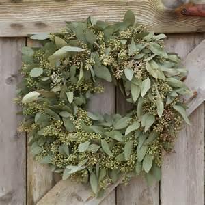 flower arrangements for dining room table seeded eucalyptus wreath terrain