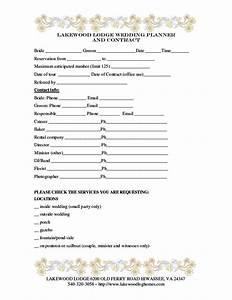 Wedding florist contract template sampletemplatess for Wedding florist contract template