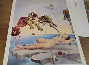 Posters - SALVADOR DALI POSTER DREAM CAUSED BY THE FLIGHT ...
