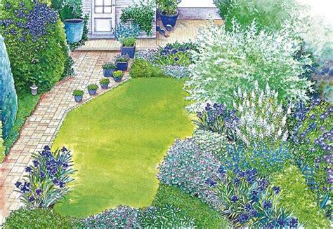 Gartenideen Für Schmale Gärten by Ideen F 252 R Einen Schmalen Hausgarten Garten Schmaler