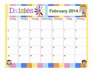 fashionable moms girl scouts daisies free calendar With girl scout calendar template