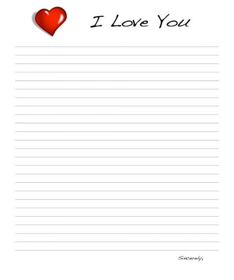 love templates sampleloveletternet