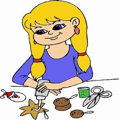 Crafts Arts Clipart Craft Making Children Clip