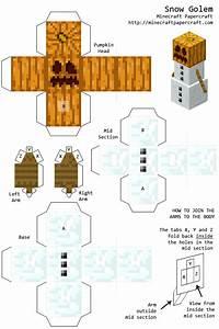 minecraft papercraft snow golem Quotes