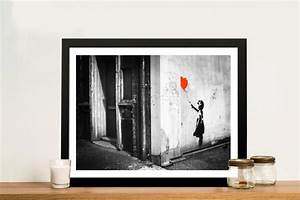 Banksy Balloon Girl Stretched Canvas Prints Online Artwork ...