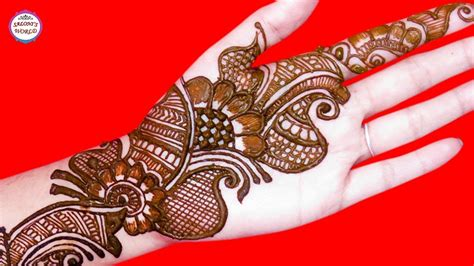 Simple Mehndi Designs Latest Arabic Henna By Jyoti Sachdeva Makstyles