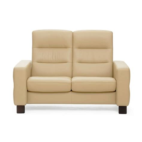 stressless wave high back loveseat from 2 995 00 by