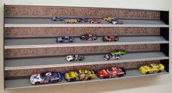 Diecast Car Display Cabinet by Nascar Display Case For Collectible Cars Autos Post