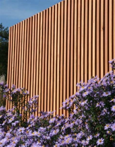 Garten Sichtschutz Holz Lamellen by Sichtschutz Moderne Holz Lamellen Nach Ma 223 Walli