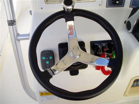 Boat Steering Wheel Location by Steering Wheel Size Preferece The Hull Boating