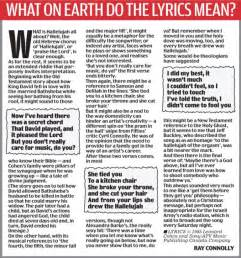 The Hallelujah Chorus Three Versions Of Same Song Vie To Be Christmas Number One  Daily Mail