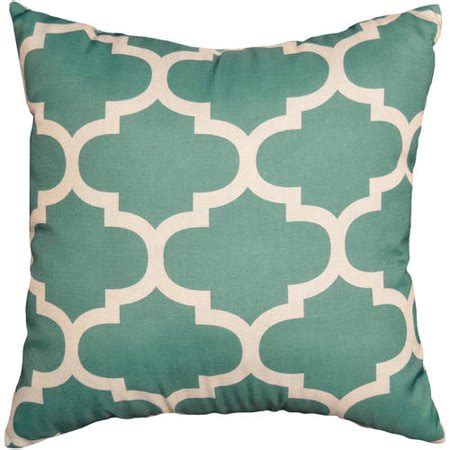walmart throw pillows mainstays fretwork decorative pillow walmart
