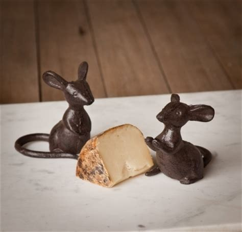 cast iron mice cheese plate mice park hill collection