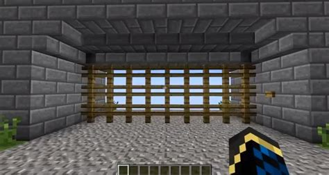 fast castle gate minecraft building