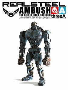 General News 3A Toys Real Steel 1:6 Scale Ambush