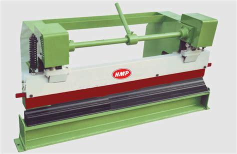 manual press brake machine hmp