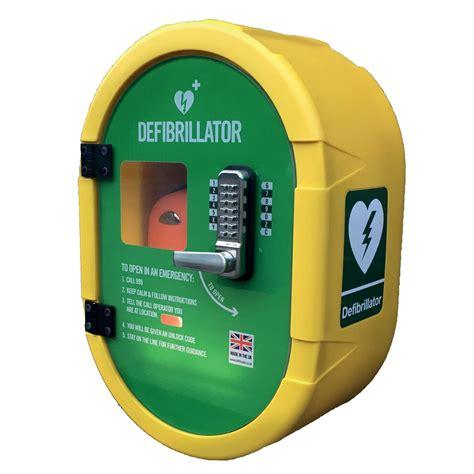 Defibrillator Cabinet secure external defibrillator cabinet ds2 locked