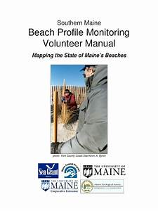 Manual Para El Monitoreo De Perfiles De Playa