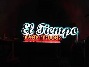 el tiempo channel letter sign dg signs and graphics With channel letter signs houston tx