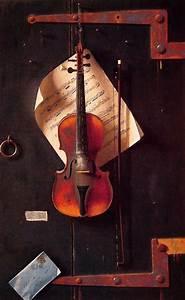 Violin Oil Painting | www.imgkid.com - The Image Kid Has It!