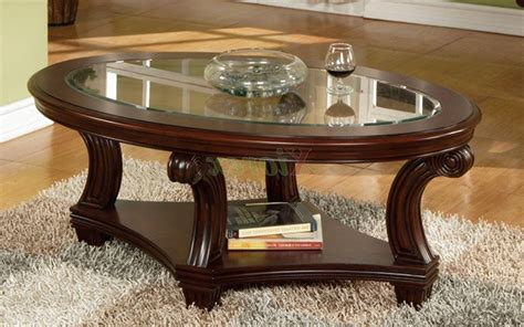 Modern coffee table with lower shelf storage glass clear living room furniture. 2020 Latest Mercury Glass Coffee Tables