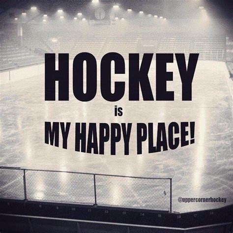 Happy Place Meme - hockey is my happy place upper corner hockey