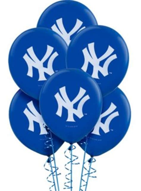 york yankees balloons ct party city