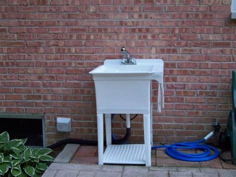 wooden kitchen sink 17 best images about basin blues outdoor garden sink 1173