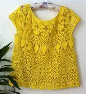 Crochet Top No Written Instructions Pattern Pdf Chart
