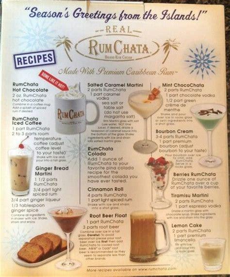 rumchata recipes home made rum chata
