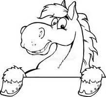 Pferdekopf Schwarz Weiß : schwarz und wei maskottchen cartoon pferdekopf stock vektorgrafiken ~ Watch28wear.com Haus und Dekorationen