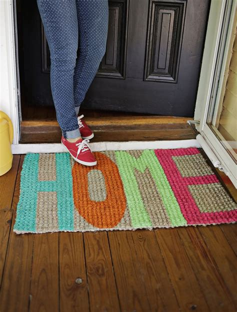 Beautiful Welcome Mats by Try This Update Your Welcome Mat A Beautiful Mess