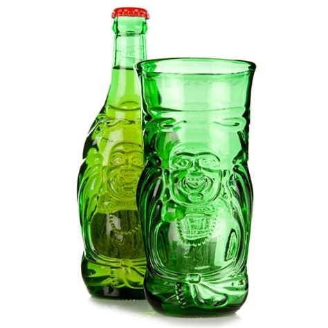 lucky buddha beer bottle glass oz ml drinkstuff
