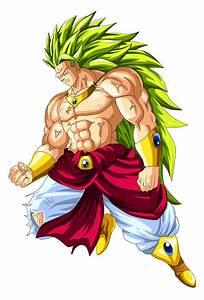 Broly Super Saiyan 3 by OriginalSuperSaiyan on DeviantArt