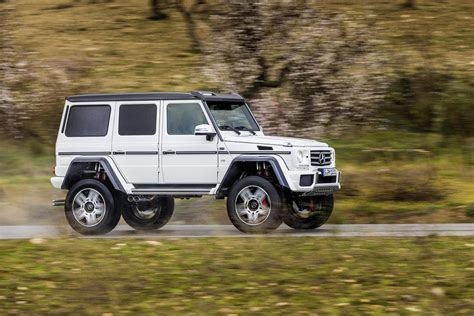 Mercedes-benz G500 4x4² Price Announced, It's More Than A