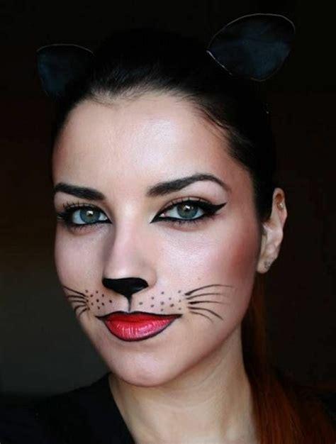 schminken katze einfach fasching schminken welche grundregeln sollte beachten