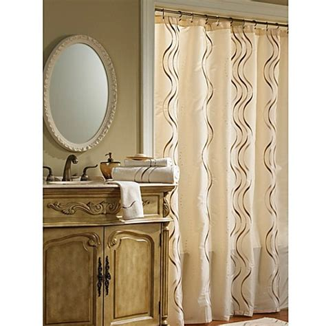 75 Shower Curtain by Croscill 174 Dante 72 Inch X 75 Inch Fabric Shower Curtain In