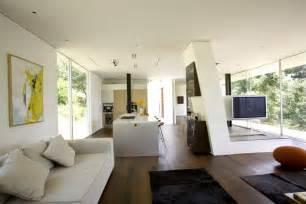 modern home interior color schemes living room open plan living modern residence in beverly