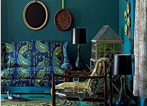 Décor Home With Peacock Style   Interior Designing Ideas