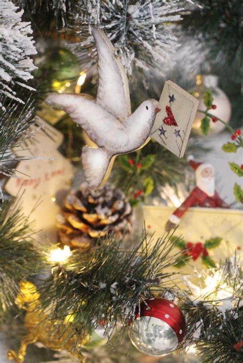 vintage christmas tree decorations old time christmas