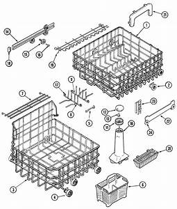 Track  U0026 Rack Assembly Diagram  U0026 Parts List For Model
