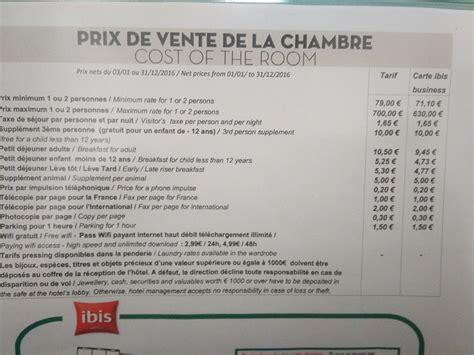 prix d une chambre hotel ibis une solution intelligente au casse tête de l 39 affichage
