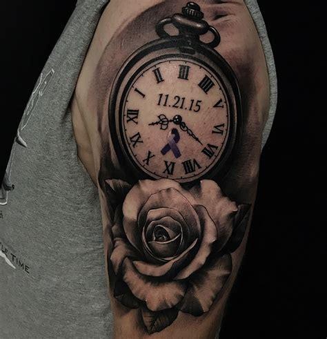 clock tattoo tattoo insider