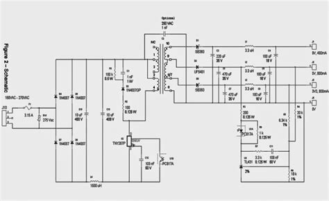 Circuit Diagram Of 9v Power Supply