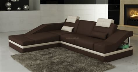 canape d angle confortable canapé candice en angle méridienne simple en cuir pas cher