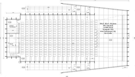 plan de salle theatre de plan de salle de cinema 26 creteil d 233 sign