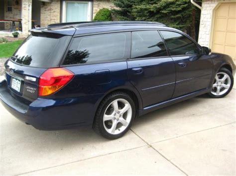 2005 Subaru Legacy Gt Wagon 5mt Manual