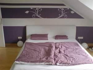 Schlafzimmer Beispiele Farbgestaltung : schlafzimmerwand gestalten 40 wundersch ne vorschl ge ~ Markanthonyermac.com Haus und Dekorationen