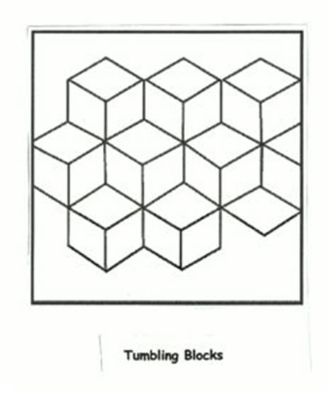 tumbling block quilt pattern template underground railroad quilt patterns templates symbol