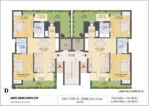 ground floor plan floor plans jaypee greens kassia sports city
